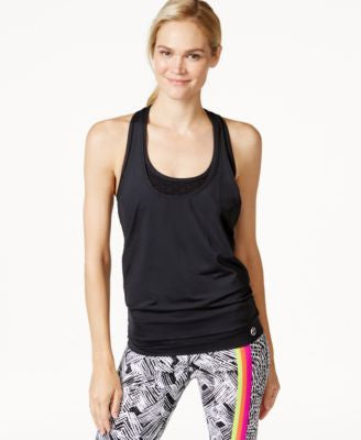 Trina Turk Recreation Bermuda 2 in 1 Layered Tank Top