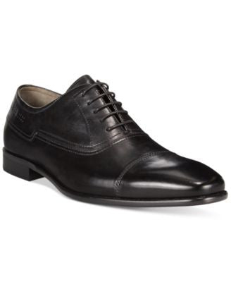 Hugo Boss C-Hudox Cap-Toe Lace-Up Dress Shoes