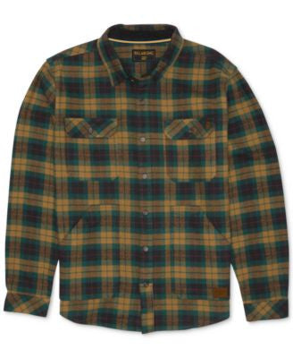Billabong Lincoln Plaid Long-Sleeve Shirt