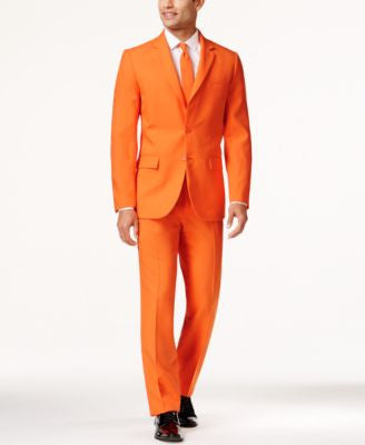 OppoSuits The Orange Slim-Fit Suit and Tie