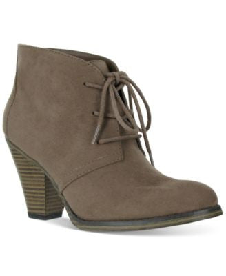 Mia Shawna Lace-Up Booties