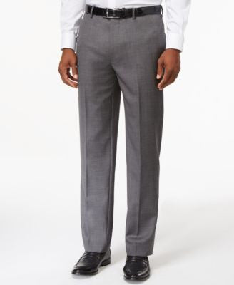 Tommy Hilfiger Slim-Fit Grey Dress Pants