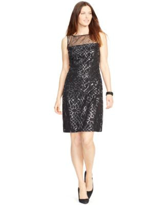 American Living Sleeveless Sequined Dress