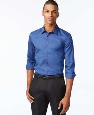 Calvin Klein Men's Infinite Cool No-Iron Shirt