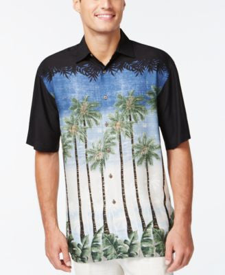Campia Moda Men's Tropical Graphic Short-Sleeve Shirt