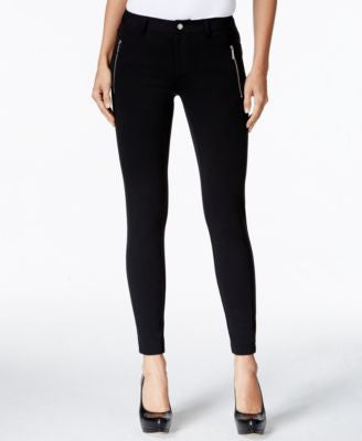 MICHAEL Michael Kors Zip-Pocket Ponte Skinny Pants