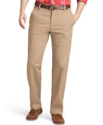 IZOD Madison Slim-Fit No-Iron Flat Front Chino Pants