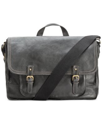 Nash by Patricia Nash Men's Tuscan Leather Messenger