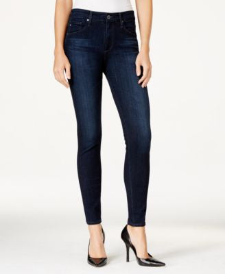 AG High-Rise Brooks Wash Skinny Jeans