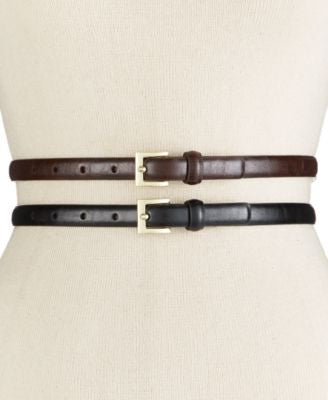 Style & Co. Glaze 2-for-1 Belt, Only at Vogily