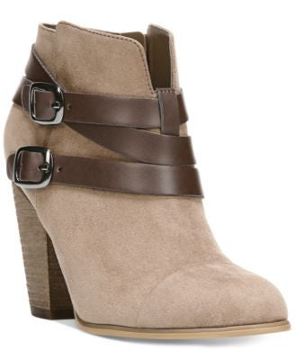 Carlos by Carlos Santana Helene Short Buckle Booties