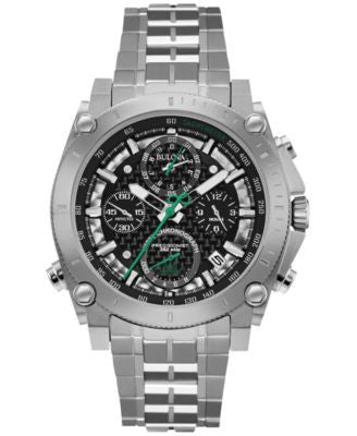 Bulova Men's Chronograph Commemorative 140th Anniversary Edition Stainless Steel Bracelet Watch 44mm