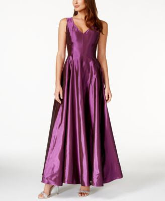 B Michael Sleeveless A-Line Gown