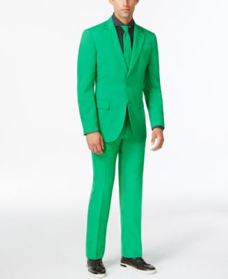 OppoSuits Slim-Fit Evergreen Suit and Tie