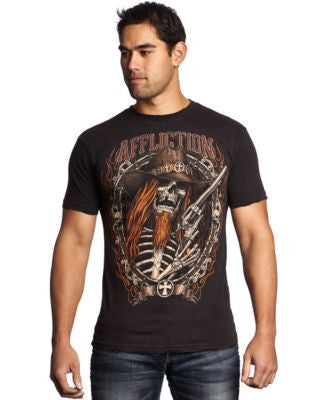 Affliction Men's Tombstone Shootout Tee
