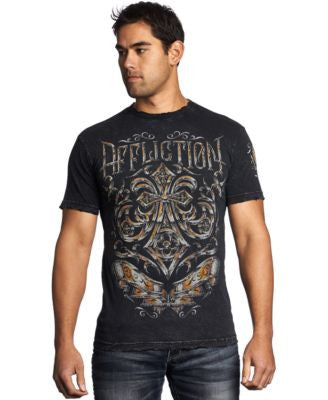 Affliction Men's Abrasive Line Tee
