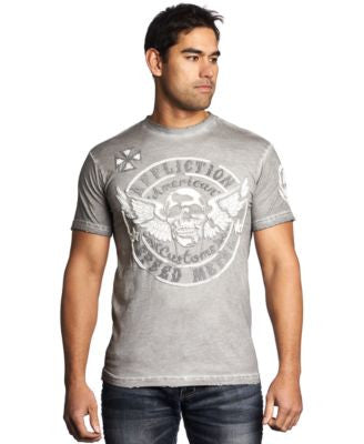 Affliction Men's Metal Relic Tee