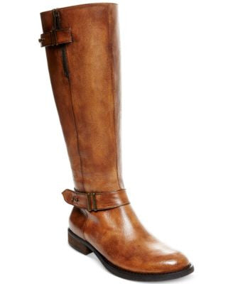 Steve Madden Women's Alyy Wide Calf Riding Boots