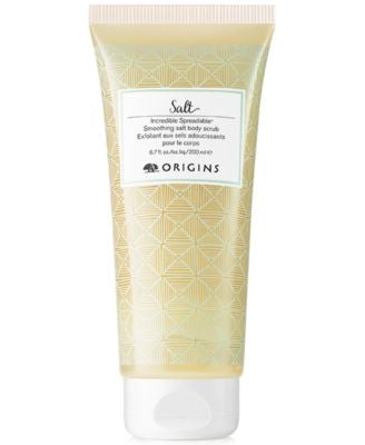 Origins Incredible Spreadable Smoothing Salt Body Scrub 6.7 oz.