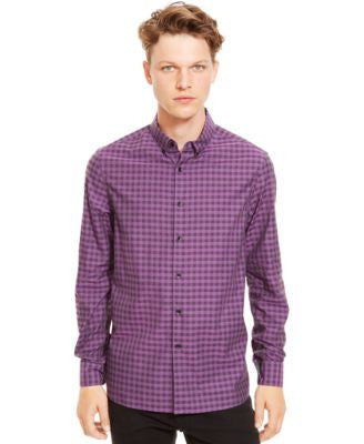 Kenneth Cole Reaction Checked Button-Down Shirt