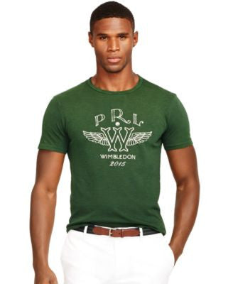 Polo Ralph Lauren Wimbledon Custom-Fit Winged W T-Shirt
