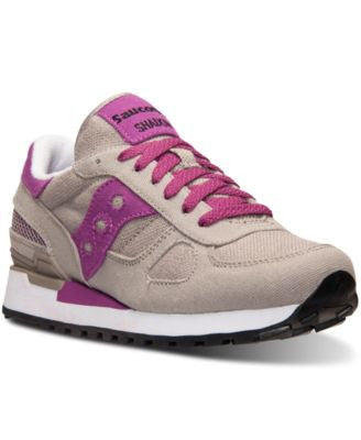 Saucony Women's Shadow Vegan Casual Sneakers from Finish Line