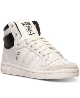 adidas Women's Top Ten Hi Casual Sneakers from Finish Line