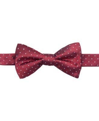 Ryan Seacrest Distinction Fairfax Pin Dot To-Tie Bow Tie, Only at Vogily