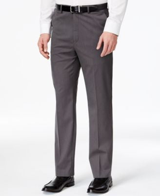 MICHAEL Michael Kors Charcoal Tic Classic-Fit Pants