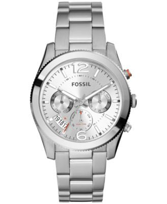 Fossil Women's Perfect Boyfriend Stainless Steel Bracelet Watch 40mm ES3883