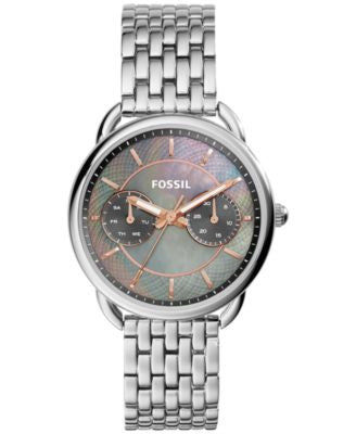 Fossil Women's Tailor Stainless Steel Bracelet Watch 34mm ES3911