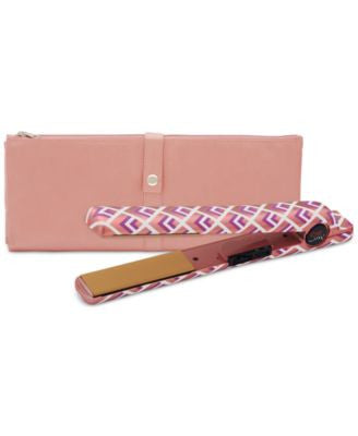 Chi Home Rose Bold Limited Edition 1 Flat Iron with Thermal Clutch""
