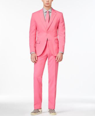 OppoSuits Mr. Pink Slim-Fit Suit and Tie