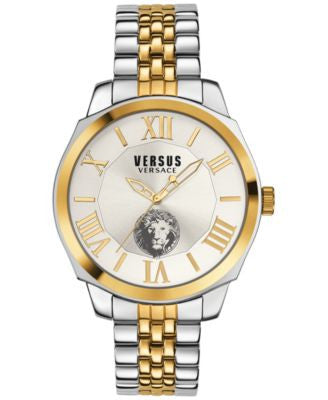 Versus by Versace Men's Chelsea Two-Tone Ion-Plated Bracelet Watch 42mm SOV040015