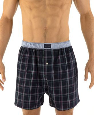Tommy Hilfiger Plaid Woven Boxers - 09T2341 / 09T2336