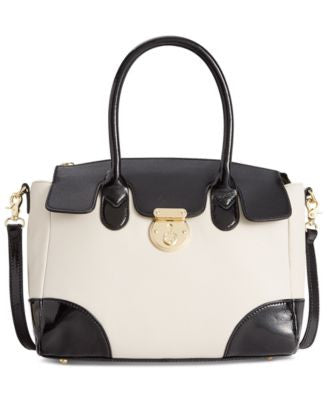 Emma Fox Rochemont Medium Leather Satchel