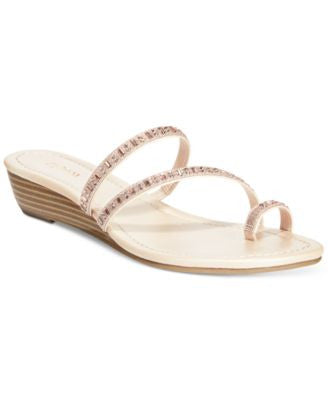 Style & Co. Hayleigh Wedge Sandals, Only at Vogily