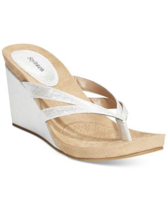 Style & Co. Cassiee Wedge Sandals, Only at Vogily
