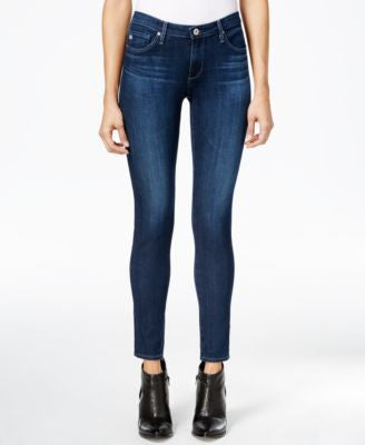AG Super Skinny Ankle Crater Wash Jeans