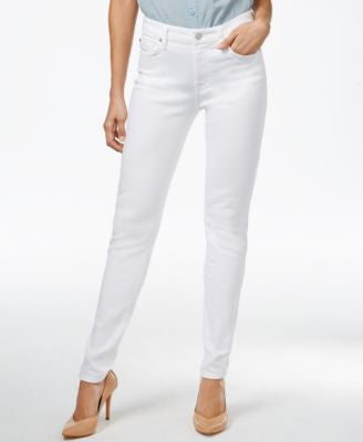 7 For All Mankind Skinny Clean White Wash Jeans