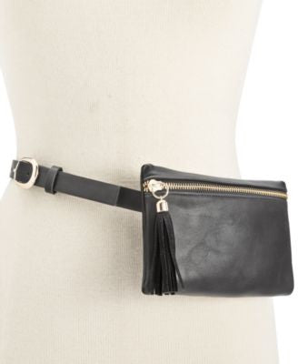 INC International Concepts Tassel Zip Fanny Pack, Only at Vogily