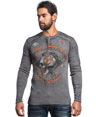 Affliction Men's Warpath Henley