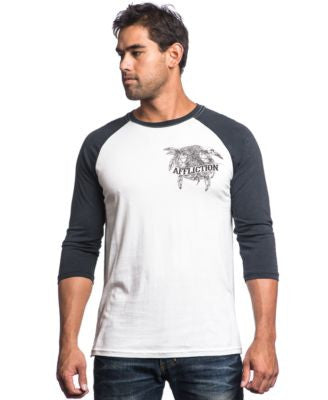 Affliction Men's Crow Fall T-Shirt