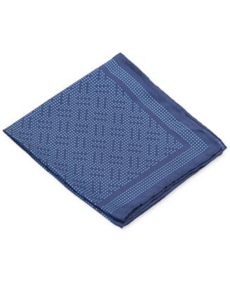 Ryan Seacrest Distinction Coco Geo Pocket Square