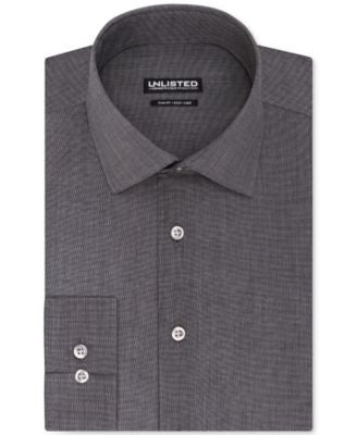 Unlisted by Kenneth Cole Hairline Stripe Slim-Fit Dress Shirt