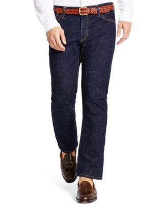 Polo Ralph Lauren Men's Varick Slim-Straight Rinse-Wash Jeans