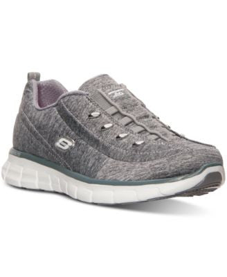 Skechers Women's Synergy - Positive Outcome Wide Width Walking Sneakers from Finish Line