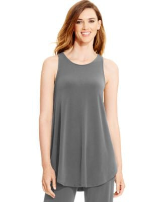 Alfani Racerback Jersey Tunic Tank, Only at Vogily