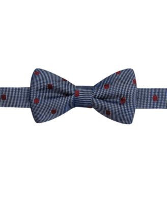 Ryan Seacrest Distinction Bellvue Dot Pre-Tied Bow Tie, Only at Vogily