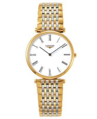 Longines Watch, Men's La Grande Classique Two Tone Stainless Steel Bracelet L47092117